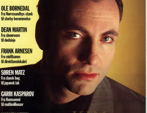 Artikel med Kim Bodnia i Euroman nr. 10 – 25. marts 1994